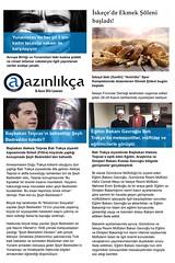AZINLIKA MANET 26 Kasm 2016 Cumartesi (azinlikca) Tags: syriza tsipras kozlukebir ketenlik dedeaa thassos komotini xanthi atina selanik yunanistan iskee gmlcine trakya battrakya