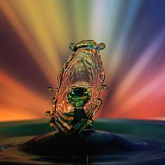 Liquid Mirror (Wim van Bezouw) Tags: speed water drop macro sony ilce7m2 highspeed