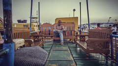 Waiting for friends (Shahriar (Phone Clicker :P)) Tags: mobilography camping campsite meghna araihazar