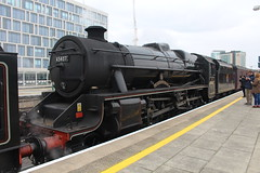 45407 (matty10120) Tags: cardiff central class railway train rail transport black 5 lms british the welsh marches express