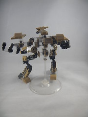 Trident exploded view back (donuts_ftw) Tags: lego mecha mech moc robot military missile metalgear exploded