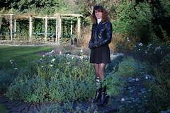 IMG_5945 (Kira Dede, please comment my photos.) Tags: kiradede kirad 2016 crossdresser copenhagen stockings lingerie upskirt hirschsprungssamling