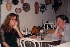 1990 Thanksgiving-19 (bencarob) Tags: 1990 extended family people stephanie stephaniegoldstine thanksgiving