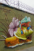 Welling Court Mural Project - Astoria, Queens, NYC (SomePhotosTakenByMe) Tags: frog frosch schnecke snail animal tier wall mauer usa urlaub vacation holiday nyc newyork newyorkcity america amerika queens astoria mural wandbild kunst art graffiti wellingcourt wellingcourtmuralproject muralproject outdoor terrarium mrpvrt