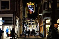 Venestraat (Gerard Stolk (durant lAvent)) Tags: thehague denhaag lahaye haag ooievaar venestraat feetsverlichting