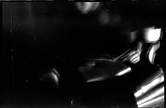 Untitled (davidzakharov) Tags: blackandwhite pinhole longexposure dark darkphoto dust diy pinholecamera caffenol homemadesoup reading indoors coffee gloomy experimental alternative