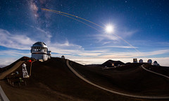 Mauna Kea Heavens 3: Finished! (geekyrocketguy) Tags: maunakea hawaii bigisland astronomy telescope telescopes observatory observatories night timelapse gemini uh88 cfht jcmt jamesclerkmaxwell subaru keck irtf sma submillimeterarray cso caltech submillimeter rokinon samyang fisheye 12 12mm f28 28