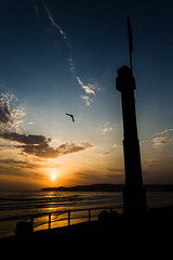 "Cada ""Each"" (Dibus y Deabus) Tags: gijon asturias espaa sapin cielo sky nubes clouds amanecer dawn contraluz backlight canon 6d playadesanlorenzo tamron"