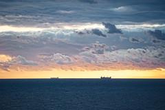 Sunset (-Makar79-) Tags: d700 nikkorafs70200f28vrii sunset landscape sea