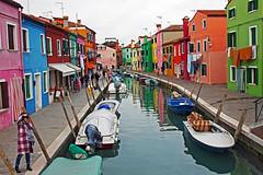 Picturesque Burano (Vid Pogacnik) Tags: italy italia burano veneto house channel town