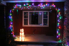 175/365/3097 (December 3, 2016) - Not much - but we have some Christmas Lights in 2016 (Saline, Michigan) (cseeman) Tags: michigan saline lights holidays christmas christmaslights house boxes colors night 2016project365coreys yearnineproject365coreys project365 p365cs122016 356project2016