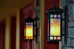 Watercolor Lights (glowygirl) Tags: lantern lanterns light lights iridescent