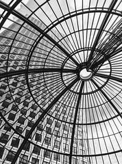 One Canada Square B&W (trunks_pj) Tags: london blackandwhite bw uk peterjamessampson nikon blackwhite onecanadasquare canarywharf architecture building skyscraper glass seethrough view structure tall silverefex