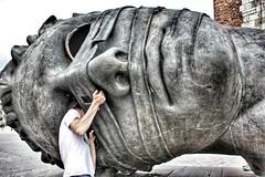 Big head (Alexandr Tikki) Tags: poland travel head big statue nose fun funny wow smile