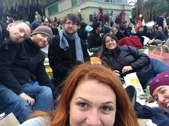 In the park with @ph @randometc @migurski @george08 and @cweindorf ready for Indiana Jones!