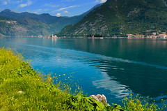 Kotor Bay, Montenegro (Butch Osborne) Tags: trip travel blue mountain mountains nature water beautiful landscape bay amazing interesting colorful europe tour awesome scenic bonita mothernature montenegro mustsee kotor yugoslvia bucketlist