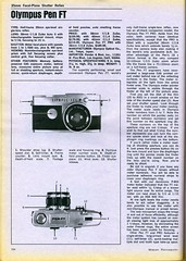 Olympus Pen FT 1970 (Nesster) Tags: camera magazine photography december report ad advertisement advert presentation 1970 summary modernphotography