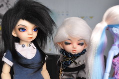 Snowy's girlfriend (Mista-Oro) Tags: monster high vampire dreaming elf tiny jing fairyland ltf dollzone chiwoo
