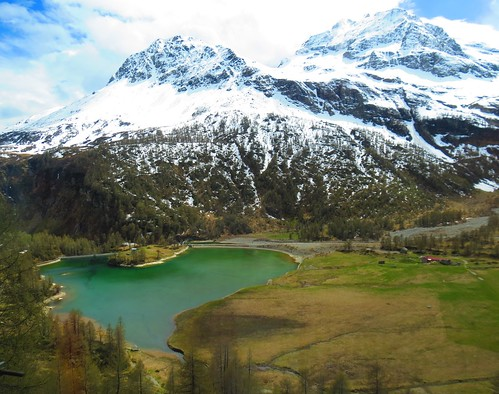 Bernina Express, Tirano to St. Moritz, Switzerland