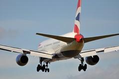 [11:55] 'BA903U' (BA0903) FRA-LHR (A380spotter) Tags: london emblem coatofarms heathrow crest landing achievement finals ba boeing arrival approach britishairways lhr 767 baw threshold iag egll 300er 27l gbnwa runway27l shortfinals fralhr ba903u toflytoserve ba0903 internationalconsolidatedairlinesgroupsa