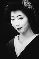 Kosen ( Ogawasan) Tags: portrait bw japan lady japanese kyoto asia traditional maiko geiko   kimono asie japo japon giappone japani japane japn  siapan  japonya yaponiya   jaapan kosen japonsko             japosk japaska