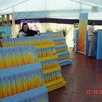Entrance tent of the 2002 Edinburgh International Book Festival