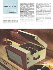 WEBCOR Phonograf, Taperecorder, Pick-up Dealer Portfolio (USA 1954)_09 (MarkAmsterdam) Tags: old classic sign metal museum radio vintage advertising design early tv portable colorful fifties tsf mark ad tube battery engineering pickup retro advertisement collection plastic equipment deck tape electronics era handheld sheet booklet collectible portfolio recorder eames electrical atomic brochure console folder forties fernseher sixties transistor phono phonograph dealer cartridge carradio fashioned transistorradio tuberadio pocketradio 50's 60's musiktruhe tableradio magnetophon plaskon 40's kitchenradio meijster markmeijster markamsterdam coatradio tovertoom