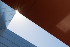 """""""Reina Sofia"""" museum in Madrid (LeonardoLupori) Tags: sun reina sofia 10 25 geometries mdrid d7100"""