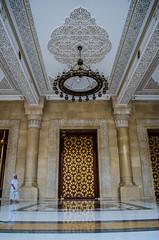 Al-Saleh Mosque-  (Amani Alhjaji) Tags: road street mosque yemen sanaa                alsaleh