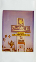 Best Motel (Nick Leonard) Tags: california old classic film yellow bar analog vintage polaroid route66 nick roadtrip scan retro palmtrees joycam smiley needles cocktails timeless smileyface expiredfilm polaroidjoycam polaroidcamera instantfilm 500film type500 historicroute66 polaroidfilm expired2005 mexicanfanpalms bestmotel nickleonard tryusyoulllikeus believeinfilm sixtysixbar