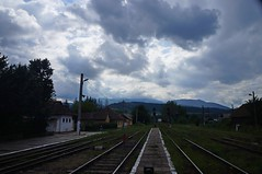 Vedere spre Făgăraș din Tălmaciu