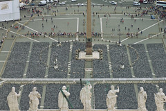 View from St. Peter's Basilica 05 (Miscolo) Tags: city summer italy stpeters rome canon europe view basilica 550d