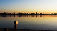 - sunset - (Jacqueline ter Haar) Tags: sunset zonsondergang rotterdam kralingseplas
