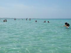 Gallipoli in lontananza (CasteFoto) Tags: sea italy beach punto seaside italia mare south bianca bagno padula gallipoli salento puglia spiaggia lido sud fisso
