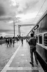 India's Veins (Gopinath Ram (Gopi)) Tags: street india rain station canon photography nikon triangle photographer indian country shapes railway ram pondicherry madhyapradesh gopinath puducherry hosangabad gopiphotography gopinathram