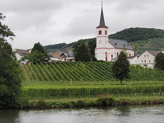 P9141094A (Whidbey LVR) Tags: church europe olympus rains mosel moselle lyle rivercruise 2013 epl5 lylerains