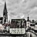 Regensburg, die Dom und die Donau