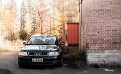 Audi a6 shklaitoksen pihassa (Simoo-) Tags: autumn fall canon finland 55mm kit 1855 finnish audi lense syksy 18mm 1000d