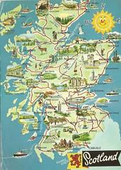 Escocia (tico_manudo) Tags: escocia scotland maps reinounido unitedkingdom mapcards