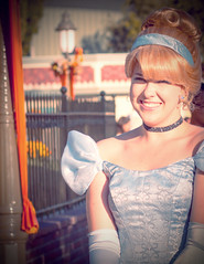 292/365. (chris.alcoran) Tags: portrait smile canon photography is heart princess bokeh disneyland dream 85mm disney your photoaday makes cinderella wish fantasyland project365 photoaday365