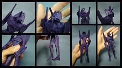 EVA 2013 Details (shuki.kato) Tags: anime paper origami eva manga fold kato evangelion shuki nge