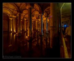 Basilica Cistern (MikeJDavis) Tags: water istanbul column pilgrimage cistern