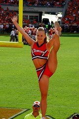 Clemson!!! (stephens_photography) Tags: cats college sc boston canon fun death football team acc south hill rally band saturday valley tigers carolina cheer cheerleader cheerleading drill clemson