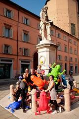 Cracking Art a Bologna a sostegno del portico di San Luca (Un passo per San Luca) Tags: bologna porticodisanluca crackingartgroup unpassopersanluca