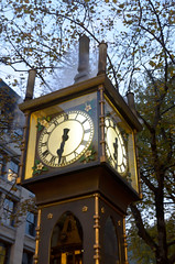 Steam Clock Photo