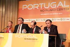 """Conferência """"Portugal no Rumo Certo - OE 2014"""" em Bragança"""