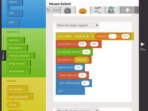 Hopscotch for iPad Coding by Wesley Fryer, on Flickr