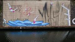 Turmspringer (österreich_ungern) Tags: streetart berlin germany grafitti kanal schifffahrtskanal