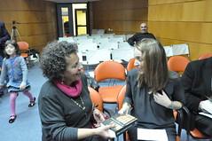 18/11/2013 Η Ντορίνα Παπαλιού μιλάει για το τελευταίο της βιβλίο στη Δημόσια Κεντρική Βιβλιοθήκη της Βέροιας