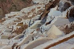 Peru - Sacred Valley & Incan Ruins 308 - the Salineras salt pans (mckaysavage) Tags: peru geotagged pond terrace salt valley sacred pan incan evaporate inkan salineras